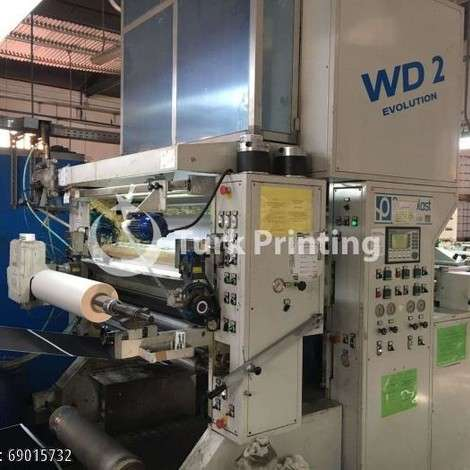 Used Paperplast WD EVOLUTION 102 X142 year of 2008 for sale, price 150000 EUR EXW (Ex-Works), at TurkPrinting in Laminating - Coating Machines