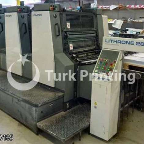 Used Komori Lithrone 428 EM 1996 year of 1996 for sale, price 110000 EUR C&F (Cost & Freight), at TurkPrinting in Used Offset Printing Machines