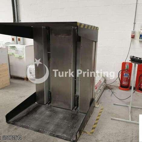 Satılık ikinci el 2007 model Rotek 900S Palet çevirme B1 ve B2 FORMATI fiyat sorunuz TürkPrinting'de! Palet Çevirme kategorisinde.