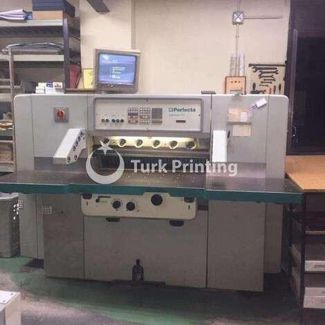 Satılık ikinci el 1990 model Perfecta 92 MC 2 TV Matbaa Giyotini fiyat sorunuz TürkPrinting'de! Bıçaklar - Giyotin kategorisinde.