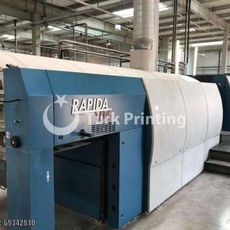 Used KBA Koenig & Bauer RAPIDA 106-5+L-ALV2 - 2008 year of 2008 for sale, price ask the owner, at TurkPrinting in Used Offset Printing Machines