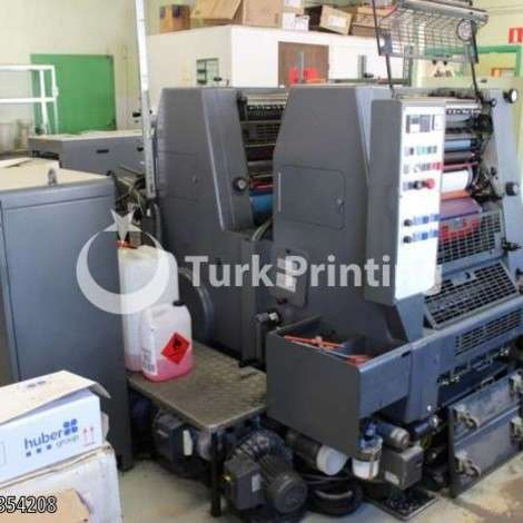 Used Heidelberg GTO 52 ZP Offset Printing Press year of 1995 for sale, price ask the owner, at TurkPrinting in Used Offset Printing Machines