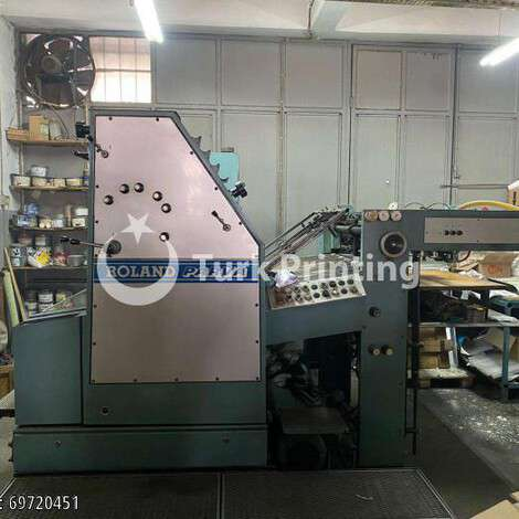 Used Man-Roland PARV2C 64X90 year of 1983 for sale, price 65000 TL EXW (Ex-Works), at TurkPrinting in Used Offset Printing Machines