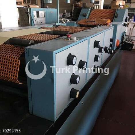 Used Form All Roland Matic S Continuous Form Machine year of 1986 for sale, price 65000 TL FOT (Free On Truck), at TurkPrinting in Continuous Form Printing Machines