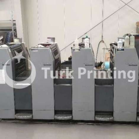 Used Heidelberg SM 52 4 Offset Printing Press year of 2003 for sale, price ask the owner, at TurkPrinting in Used Offset Printing Machines