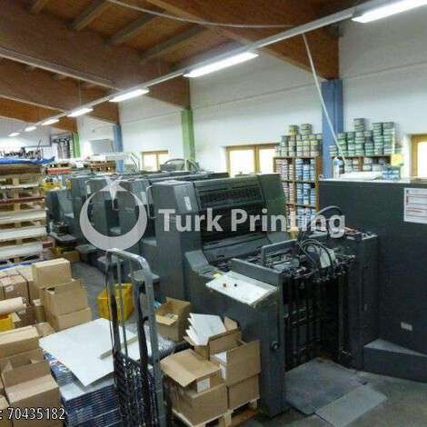 Used Heidelberg SM 74 4P3 H four colour offset printing machine year of 1999 for sale, price ask the owner, at TurkPrinting in Used Offset Printing Machines