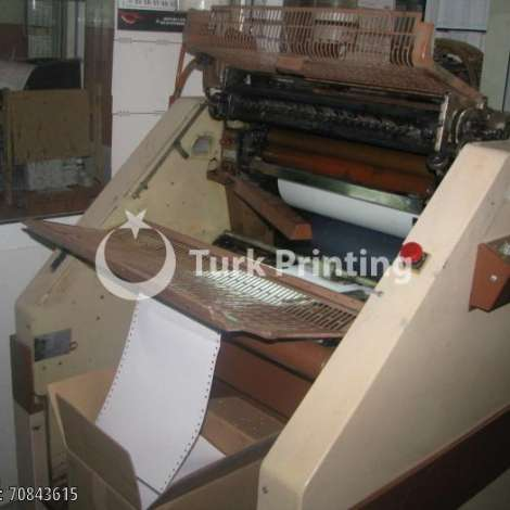 Used Rotaprint 2 Color Continuous Form + Gatherer Machine year of 1992 for sale, price 11000 TL EXW (Ex-Works), at TurkPrinting in Continuous Form Printing Machines