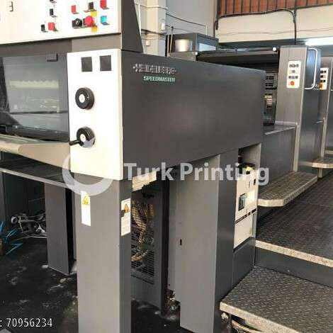 Used Heidelberg SM74-4 PH year of 1996 for sale, price 100000 EUR, at TurkPrinting in Used Offset Printing Machines