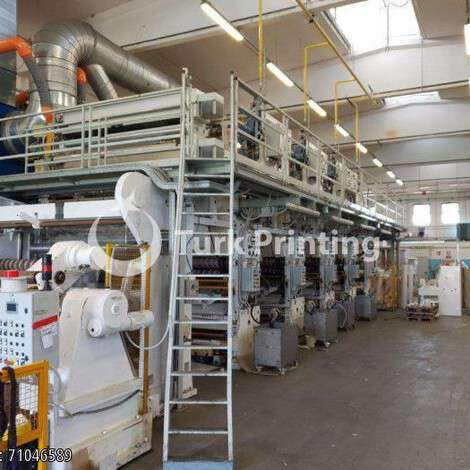 Used Cerutti rotogravure for varnishing and coating year of 2016 for sale, price ask the owner, at TurkPrinting in Laminating - Coating Machines
