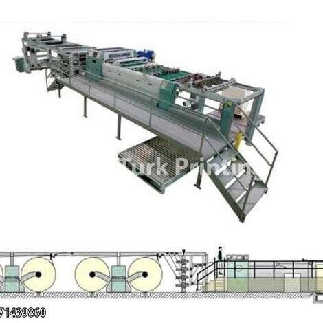 Satılık ikinci el 2003 model Pemco SHM Kağıt Rulo Kaplama Makinesi 1450 mm fiyat sorunuz TürkPrinting'de! Bobin Ebatlama Makinaları kategorisinde.