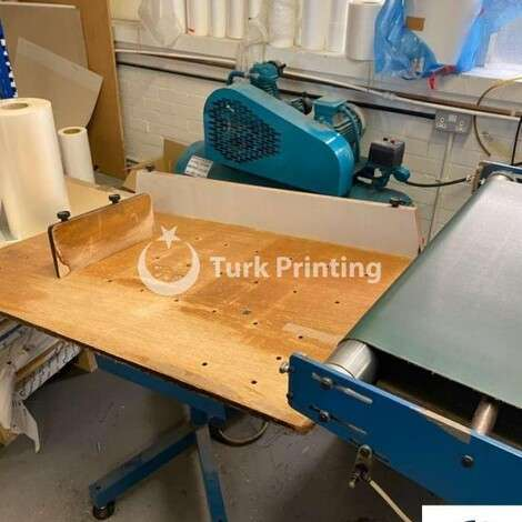 Used Lamtex TI 76 Laminating Machine year of 2001 for sale, price ask the owner, at TurkPrinting in Laminating - Coating Machines