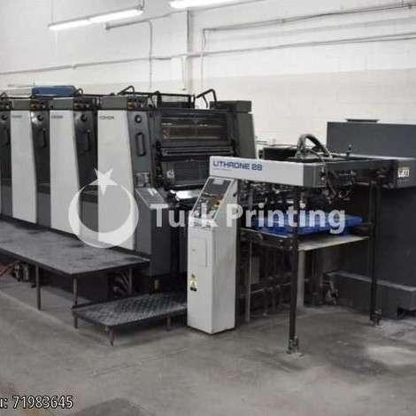 Satılık ikinci el 2000 model Komori L-428 EH Ofset Baskı Makinası Yıl 2000 fiyat sorunuz TürkPrinting'de! Ofset Baskı Makinaları kategorisinde.