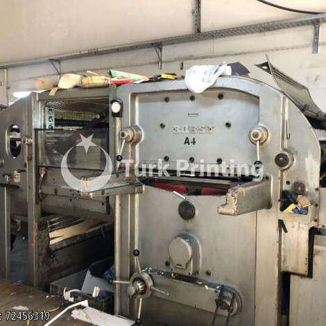 Used Bobst 78*108 Die Cutting Machine year of 1968 for sale, price 350000 TL, at TurkPrinting in Die Cutters