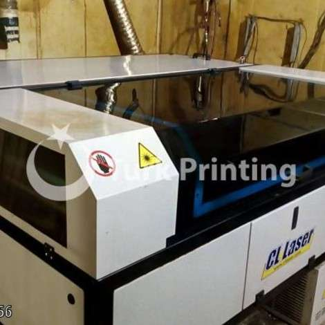 Used CL Laser 140 * 100cm 150 watt Laser Cutting Machine year of 2017 for sale, price 30000 TL, at TurkPrinting in CNC Router and CNC Cutting Machines