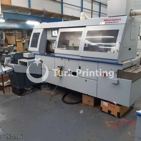 Used Horizon BQ 470 PUR Perfect Binding Machine year of 2017 for sale, price ask the owner, at TurkPrinting in Perfect Binding Machines