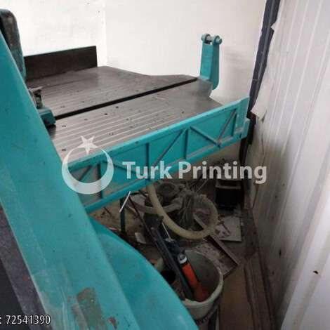 Used Schneider 107 cm guillotine year of 1996 for sale, price 66000 TL, at TurkPrinting in Paper Cutters - Guillotines