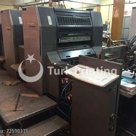 Used Heidelberg SM74 - 4+L - 2000 year of 2000 for sale, price ask the owner, at TurkPrinting in Used Offset Printing Machines
