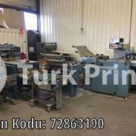 Satılık ikinci el 1997 model MBO T640-F Kağıt Katlama Makinesi fiyat sorunuz TürkPrinting'de! Katlama (Kırım) Makinaları kategorisinde.