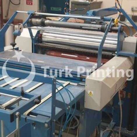 Used Foliant Pollux 720 SF Laminating Machine year of 2011 for sale, price ask the owner, at TurkPrinting in Laminating - Coating Machines