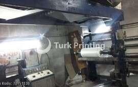 4 renk Flekso Baskı Makinası