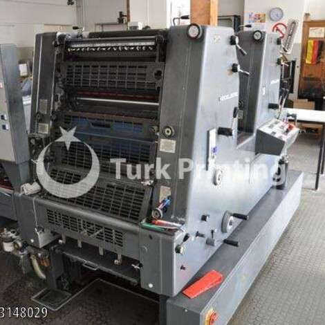 Used Heidelberg GTO 52 ZP 2 color Printing Press year of 1990 for sale, price 8000 EUR FOT (Free On Truck), at TurkPrinting in Used Offset Printing Machines