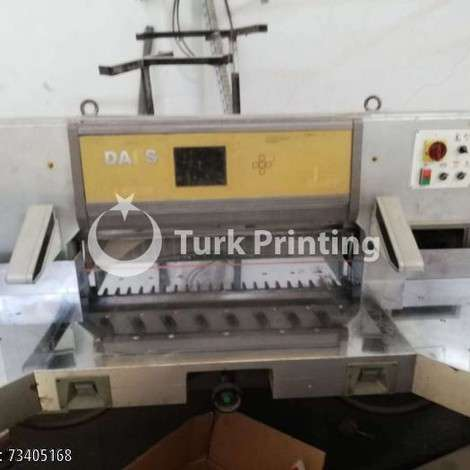 Used Dai's Paper Cutting Machine year of 1990 for sale, price 19000 TL EXW (Ex-Works), at TurkPrinting in Paper Cutters - Guillotines