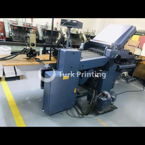 Used Stahl / Heidelberg Stahlfolder folder 50x70 year of 1993 for sale, price 9000 EUR, at TurkPrinting in Folding Machines