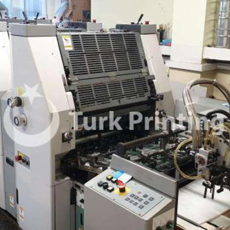 Used Hamada B 452 A-I (MKII) - (Four Colour B3 Printing Press) year of 2004 for sale, price ask the owner, at TurkPrinting in Used Offset Printing Machines