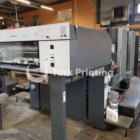 Used Heidelberg SM 102 - 2 P Offset Printing Press year of 2003 for sale, price 95000 EUR CIF (Cost Insurance Freight), at TurkPrinting in Used Offset Printing Machines