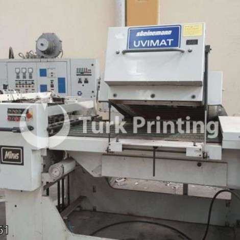 Used Steinemann 80x110 UV-Coating Machine year of 1990 for sale, price 95000 TL EXW (Ex-Works), at TurkPrinting in Laminating - Coating Machines