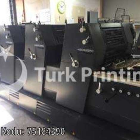 Used Heidelberg GTO 52-4P3 Offset Printing Press, Year 2002 year of 2002 for sale, price ask the owner, at TurkPrinting in Used Offset Printing Machines