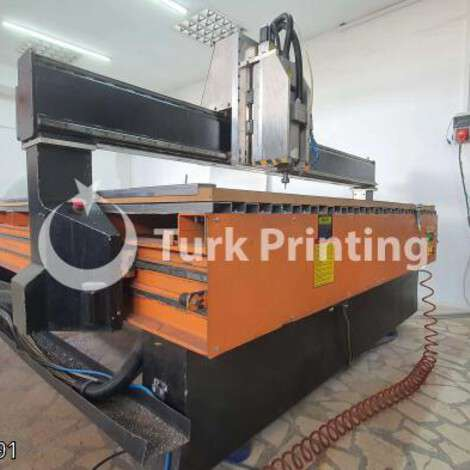 Used Other (Diğer) 210 x 410 cm cnc router year of 2010 for sale, price 50000 TL, at TurkPrinting in CNC Router