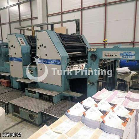 Used Man-Roland REKORD RZK 3 BE year of 1985 for sale, price 15000 EUR, at TurkPrinting in Used Offset Printing Machines