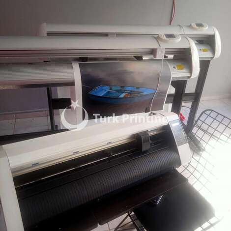 Used Graphtec CE5000-60 plotter foil cutter year of 2015 for sale, price 6000 TL EXW (Ex-Works), at TurkPrinting in Large Format Digital Printers and Cutters (Plotter)