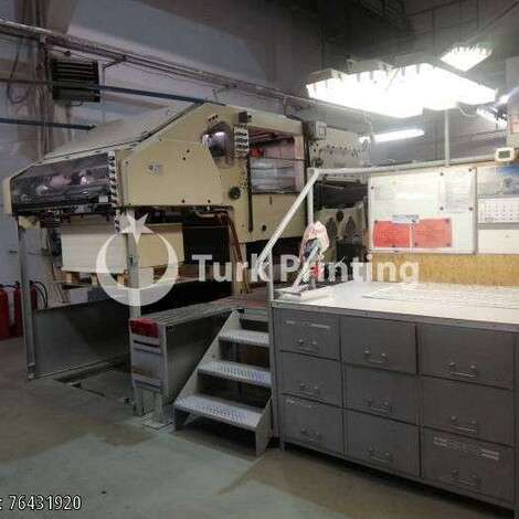Used Bobst SP 1420 E Die Cutter year of 1975 for sale, price ask the owner, at TurkPrinting in Die Cutters