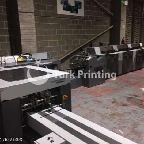 Used Heidelberg ST-100 6+C SADDLESTITCHER - 2001 year of 2001 for sale, price ask the owner, at TurkPrinting in Saddle Stitching Machines