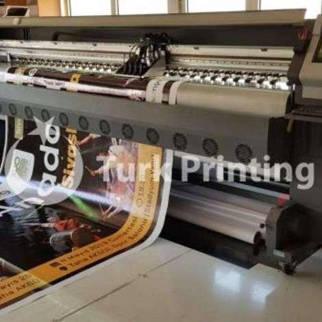 Used EkoDijital Konika 1024 Digital Printing Machine year of 2015 for sale, price 84000 TL, at TurkPrinting in Large Format Digital Printers and Cutters (Plotter)