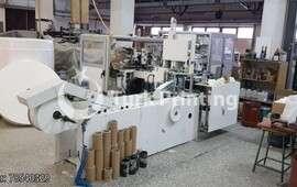 Kağıt Mendil Yapımı ve Paketleme Makinesi
