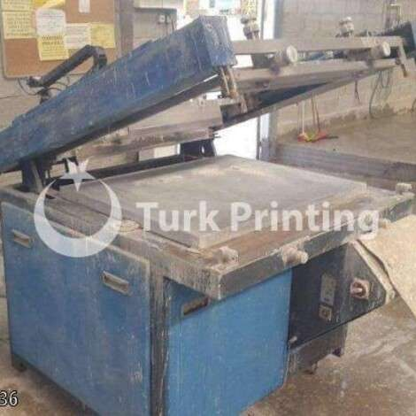 Used Arus Screen Printing Machine year of 2005 for sale, price 25000 TL, at TurkPrinting in Screen Printing Machines