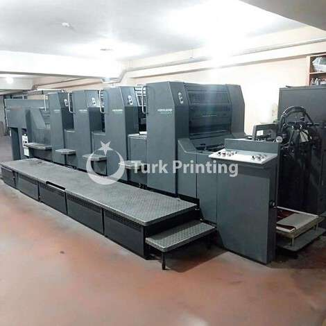 Used Heidelberg SM 74-4P3H Offset Printing Machine year of 1998 for sale, price ask the owner, at TurkPrinting in Used Offset Printing Machines