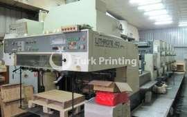 L540+C Offset Printing Press - 1989