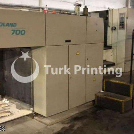 New Man-Roland 704 3B 4 COLORS OFFSET PRINTING MACHINE year of 2001 for sale, price ask the owner, at TurkPrinting in Used Offset Printing Machines