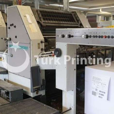 Used Man-Roland RZK-3B-E Offset Printing Press year of 1994 for sale, price 29500 EUR EXW (Ex-Works), at TurkPrinting in Used Offset Printing Machines