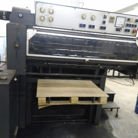 New Heidelberg SM 102 ZP offset printing machine year of 1981 for sale, price ask the owner, at TurkPrinting in Used Offset Printing Machines