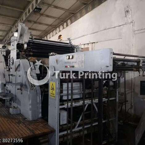 Used Man-Roland Ultra Offset printing press year of 1970 for sale, price ask the owner, at TurkPrinting in Used Offset Printing Machines
