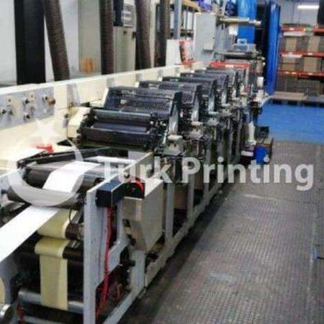 Used Omet FLEXY 330 Label Flexo Printing Press year of 2000 for sale, price ask the owner, at TurkPrinting in Flexo and Label Printing Machines