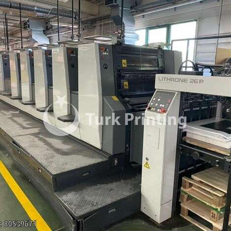 Used Komori LS 1026 Offset Printing Press year of 2004 for sale, price ask the owner, at TurkPrinting in Used Offset Printing Machines