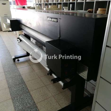 Used Xuli INKJET PRINTER X-6-2000 year of 2012 for sale, price ask the owner, at TurkPrinting in Large Format Digital Printers and Cutters (Plotter)