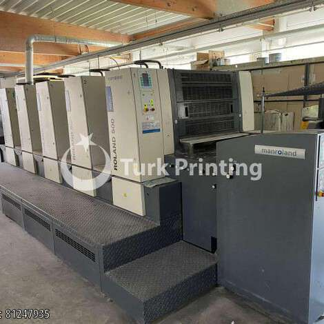 Used Man-Roland 504 0B LV HiPrint year of 2010 for sale, price ask the owner, at TurkPrinting in Used Offset Printing Machines