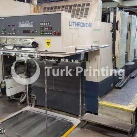 Satılık ikinci el 1995 model Komori L540 EM Ofset Matbaa Makinesi fiyat sorunuz TürkPrinting'de! Ofset Baskı Makinaları kategorisinde.